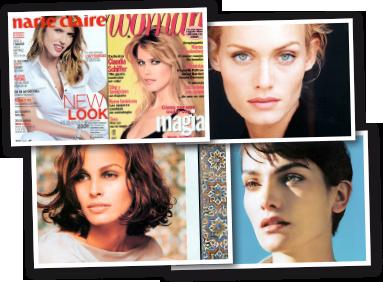 Modelos y celebrities