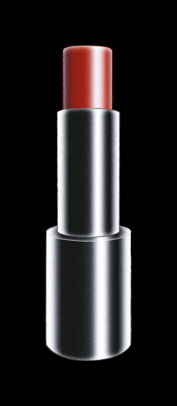 Barra de labios forma aplanada