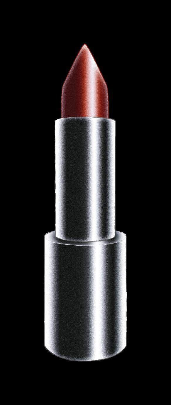 Barra de labios forma diagonal curva