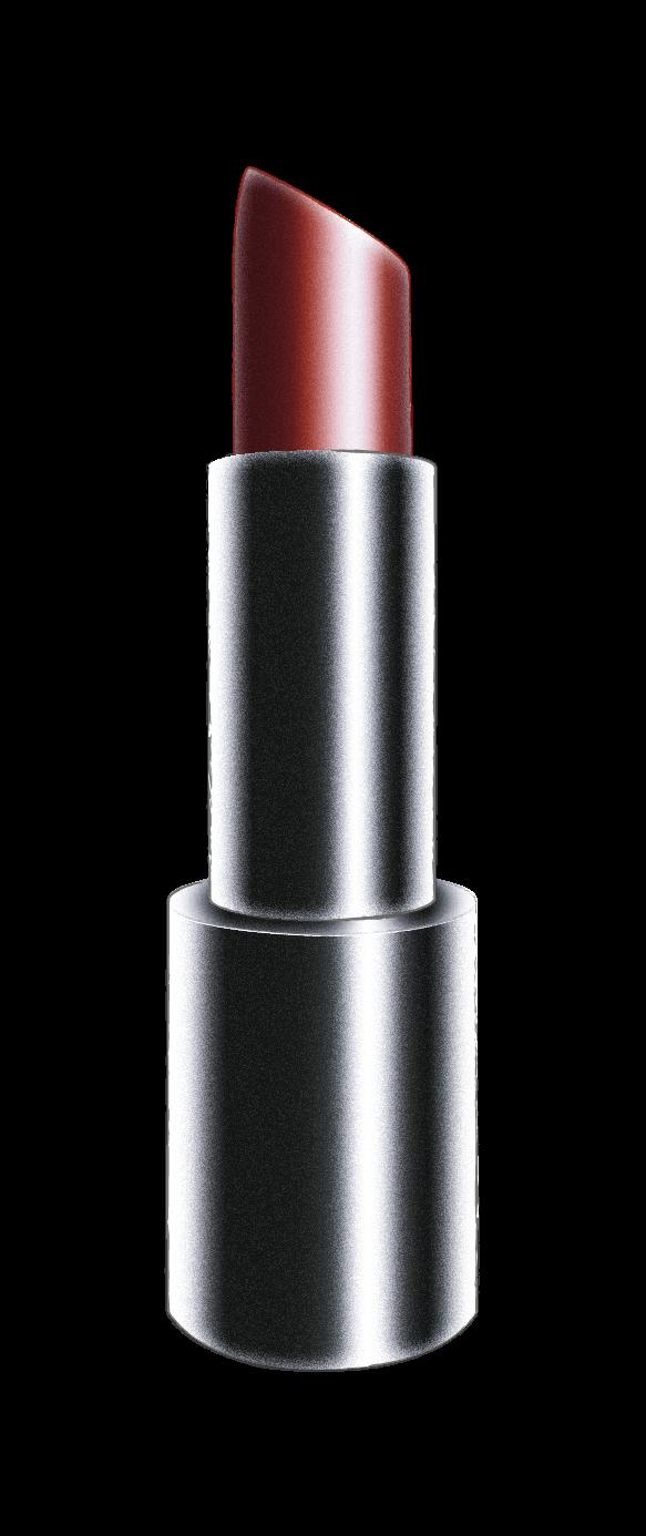 Barra de labios forma diagonal recta