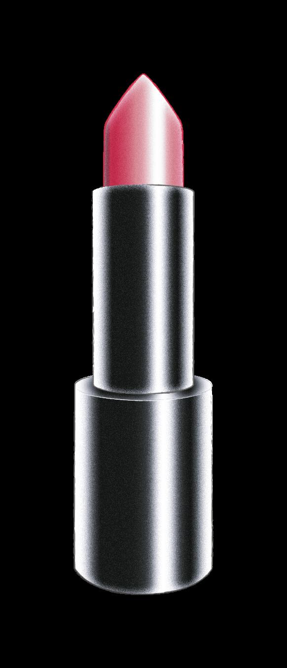 Barra de labios forma redondeada en punta