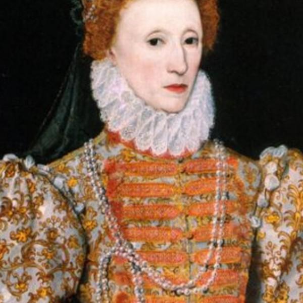 Maquillaje de labios Isabel I de Ingraterra