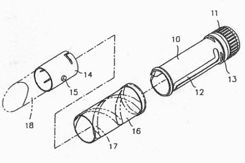Mecanismo de las barras de labios
