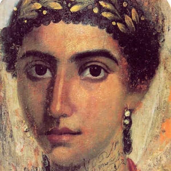 Retratos fayum - Historia de las barras de labios