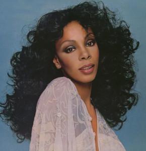 Donna Summer moda disco de los 70