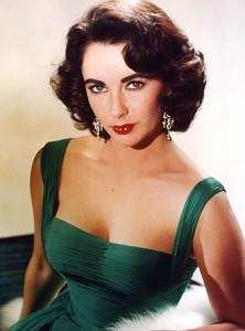 Elizabeth Taylor cejas en los años 50