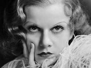 las cejas de Jean Harlow en los años treinta