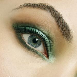 Velvet Shadow Green Jorge de la Garza Make Up