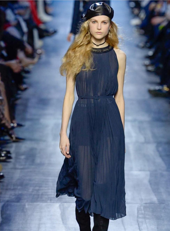 El azul de Christian Dior