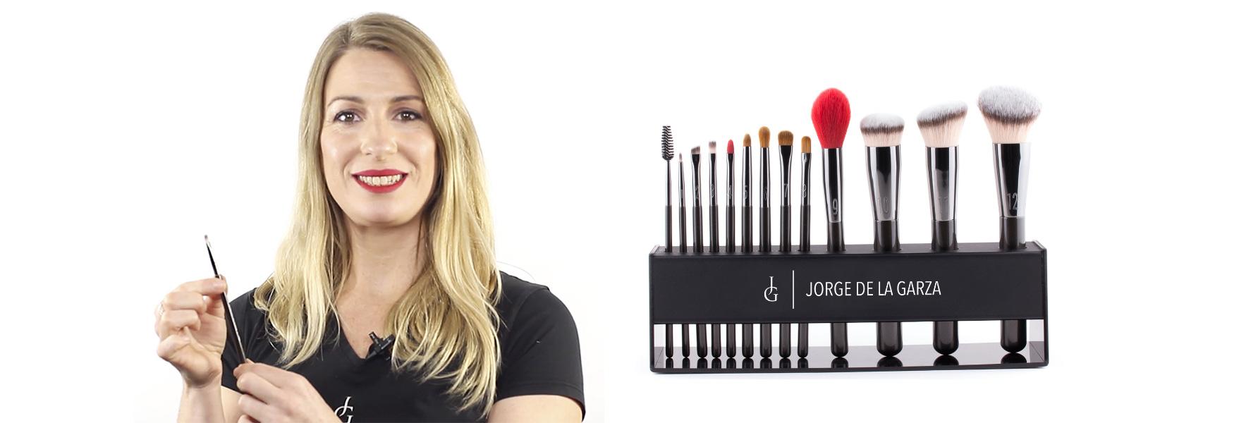 Vídeo guía completa pinceles de maquillaje