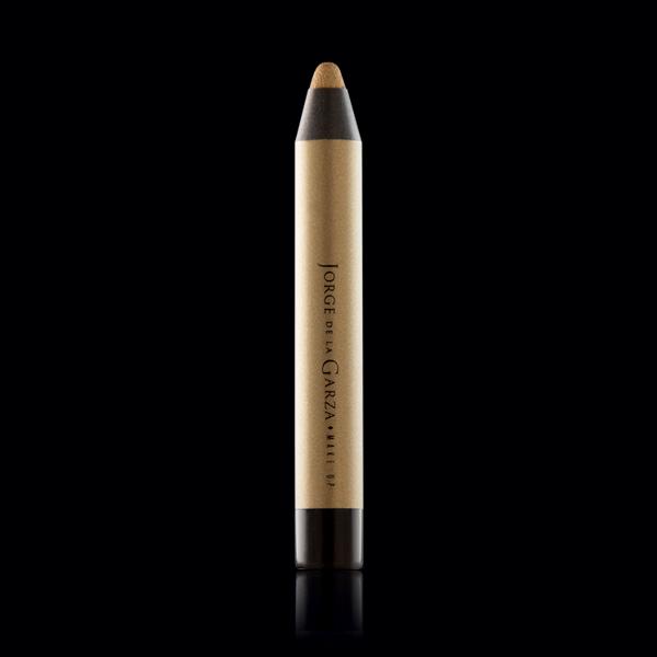 Eye shadow metal gold maquillaje metálico