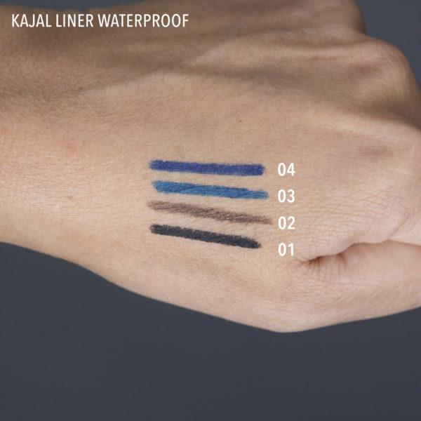 kajal liner waterproof swatch