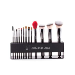 kit de pinceles de maquillaje profesional con expositor