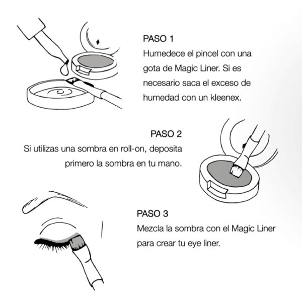Magic Liner - Fijador de sombra de maquillaje