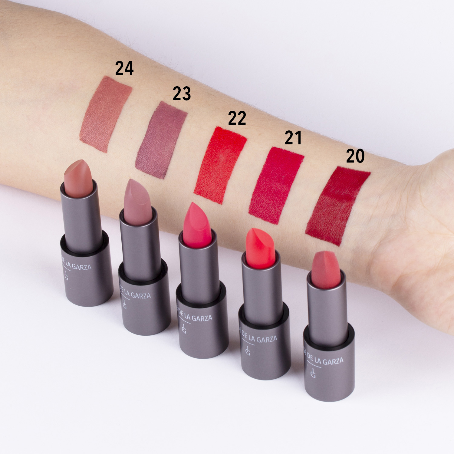 magnetic matte swatch colores