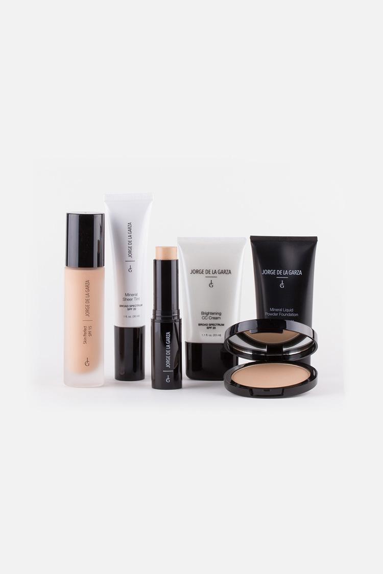Makeup with sunscreen