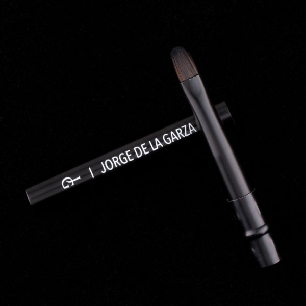 pincel maquillaje retráctil plegable para labios