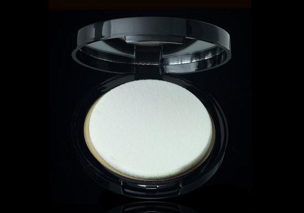 Polvo compacto doble función para maquillaje profesional