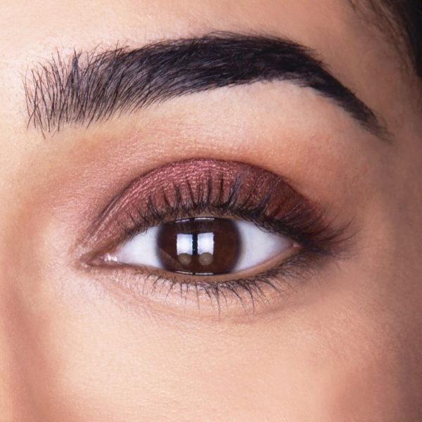 roll-on eyeshadow look