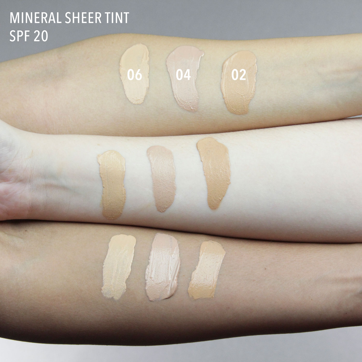 Mineral sheer tint 06 Cameo Glow