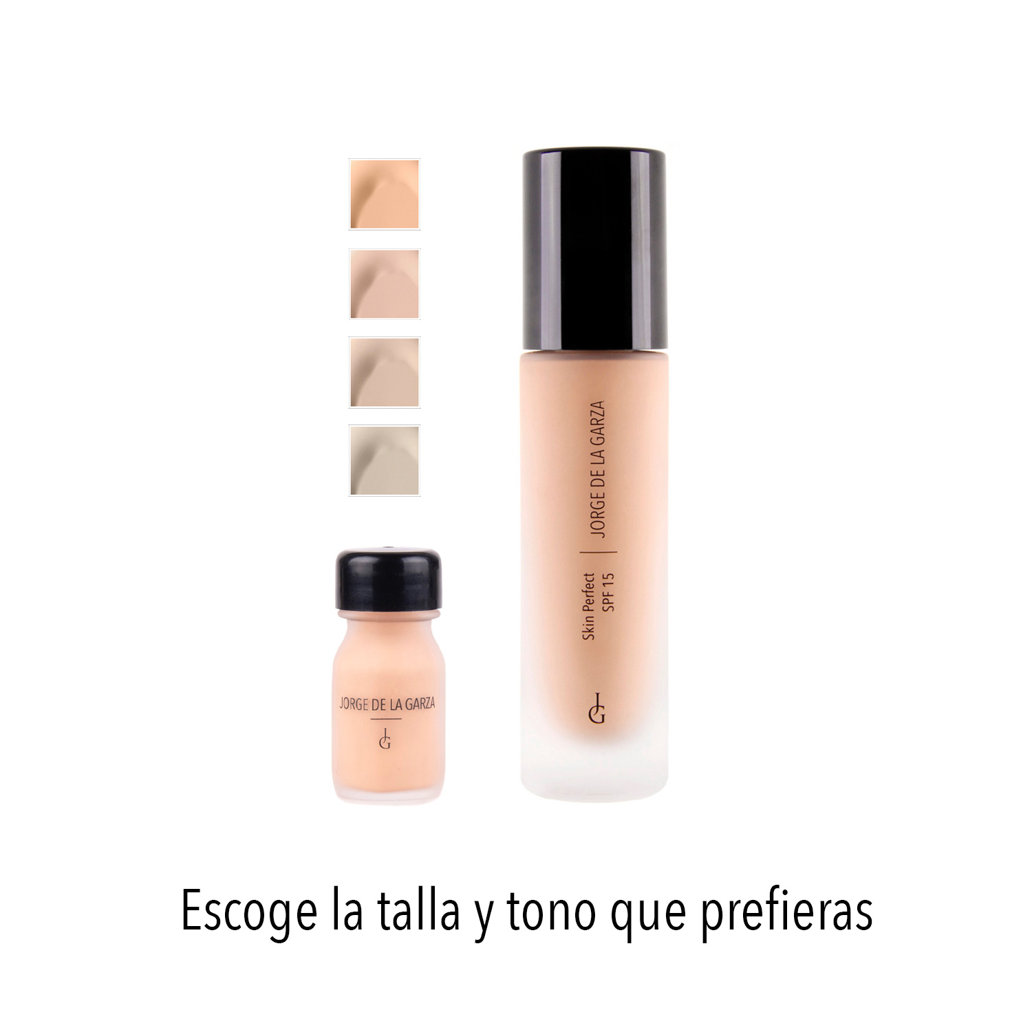 Skin Perfect - Tallas y tonos