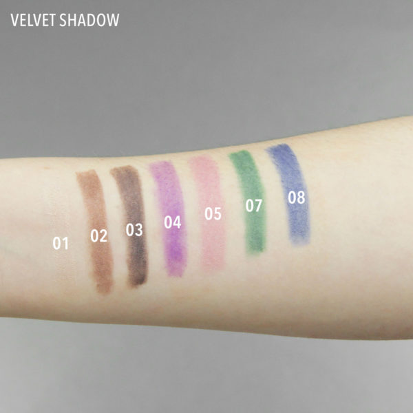 velvet shadow swatch